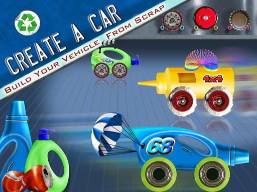 Create A Car Kids Garage Game