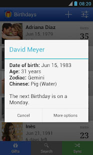 App Birthdays for Android APK for Windows Phone