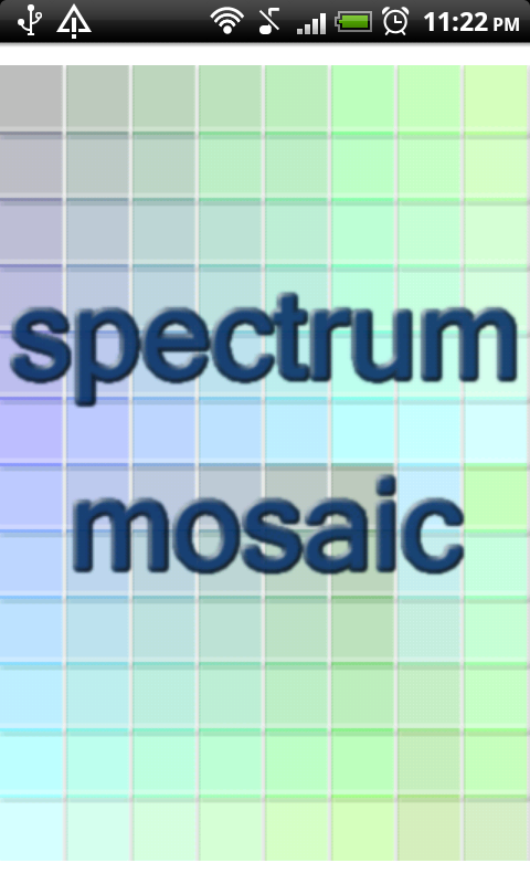 Spectrum Mosaic- screenshot