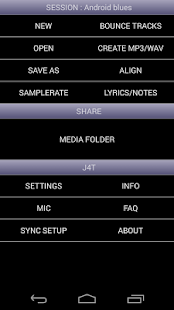 J4T Multitrack Recorder- screenshot thumbnail