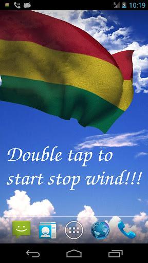 3D Bolivia Flag LWP