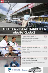 Diario Diez Honduras- screenshot thumbnail