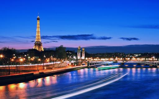 巴黎之夜壁紙