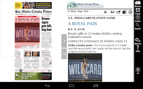 SMCT e-Edition for Android - screenshot thumbnail