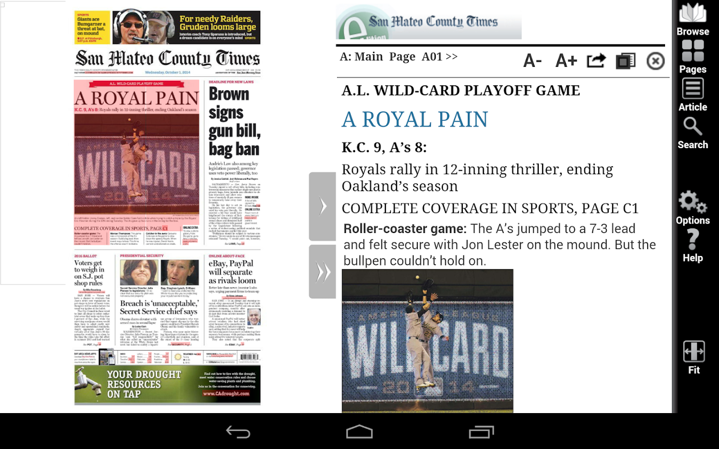 SMCT e-Edition for Android - screenshot
