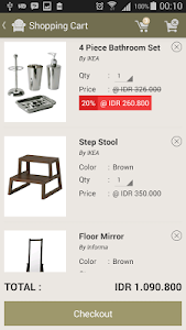JADEStore Furniture Shop screenshot 4