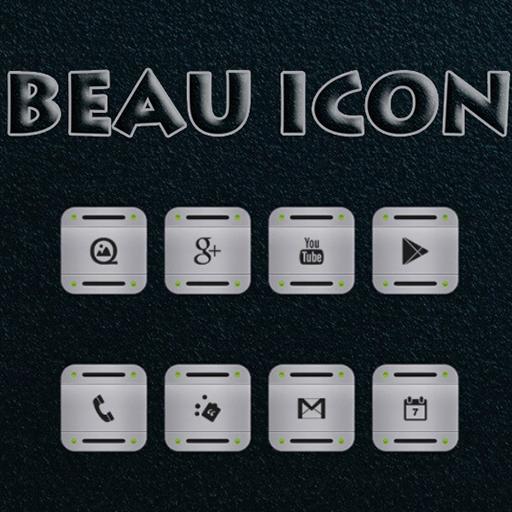 BEAU ICONS-FREE APEX/NOVA/ADW 個人化 App LOGO-APP試玩