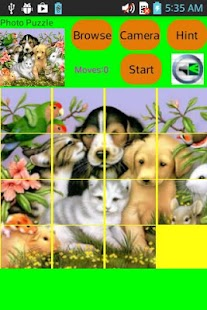 SLIDE PHOTO PUZZLE- screenshot thumbnail