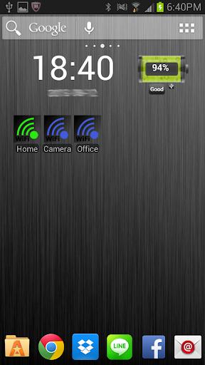 WiFi Selector Widget