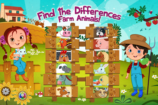 Find the Difference - Animals
