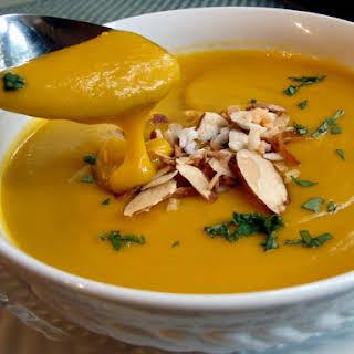 Velvety Butternut Squash Soup.
