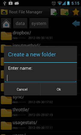 Root File Manager 1.0.5 screenshot 34467