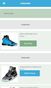 Sneaker Releases Restocks