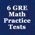 6 GRE Practice Tests (Math) logo