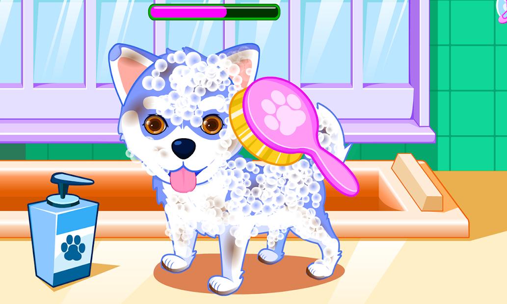 Puppy & kitty salon Android App Screenshot