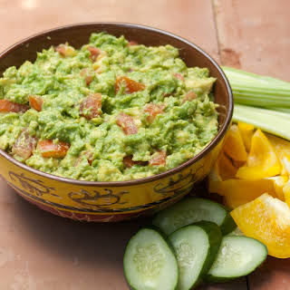 Perfect Party Guacamole - Low Carb, Gluten Free, Sugar Free, Dairy Free.