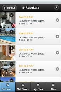 FDI ICI Agences Immobilières- screenshot thumbnail