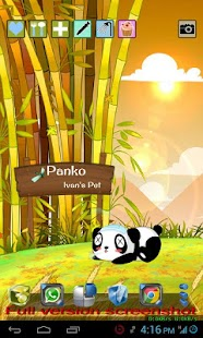 Panda Pet Live Wallpaper - screenshot thumbnail