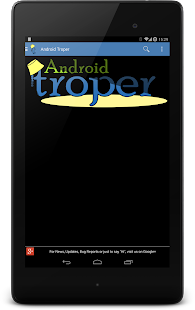 Android Troper- screenshot thumbnail