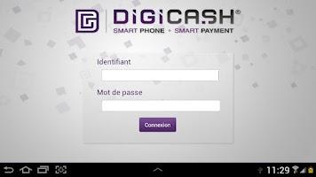 Screenshot of Digicash POS