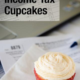 Income Tax Cupcakes