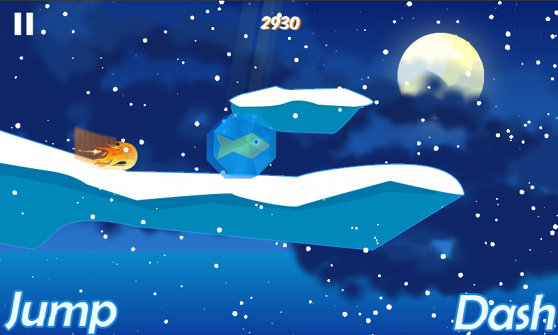 Ice Dash - Penguin Run - screenshot