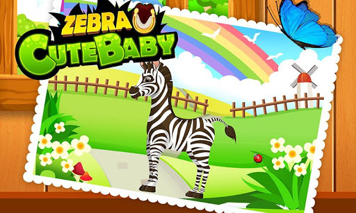 我的小斑马 - 给小动物治疗装扮儿童医生益智早教游戏