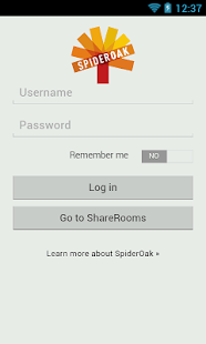 SpiderOak - screenshot thumbnail