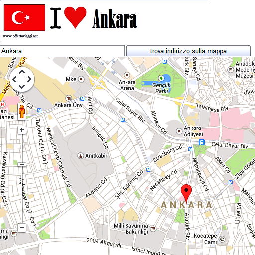 Ankara maps