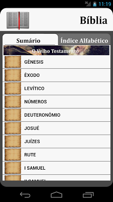 A Sagrada Bíblia - screenshot