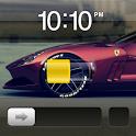 iPhone Ferrari Theme Go Locker icon