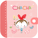 ChaCha character diary icon