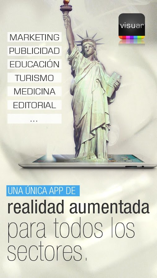 Visuar Realidad Aumentada - screenshot