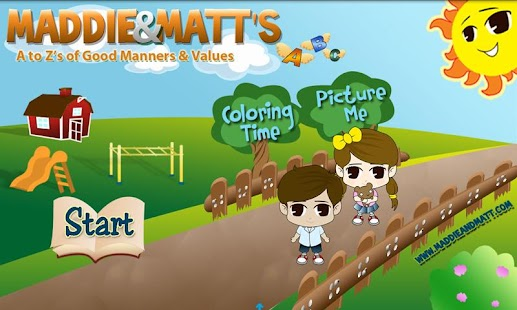 Maddie and Matt Values App - screenshot thumbnail