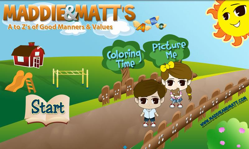 Maddie and Matt Values App - screenshot