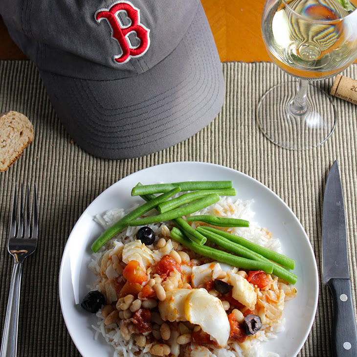New England Beans and Cod Recipe