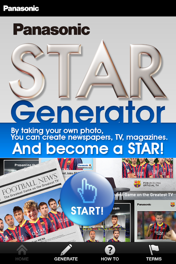 Panasonic STAR Generator - screenshot