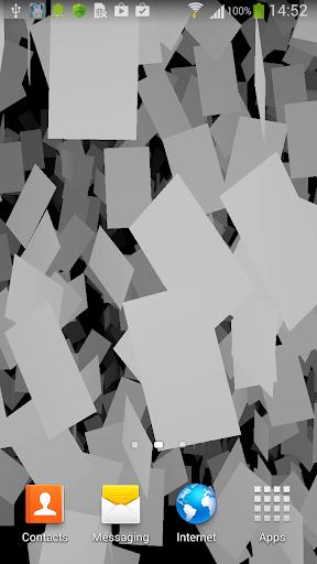 White planes Live Wallpaper
