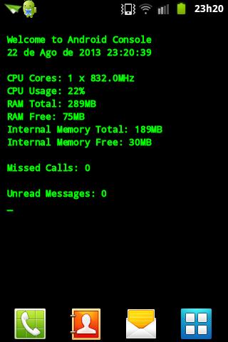 Geek Wallpaper - CPU+RAM INFO