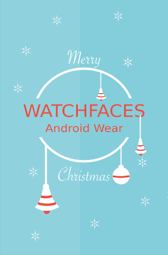 Christmas faces Android Wear