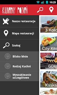 Kulinarny Poznań- screenshot thumbnail
