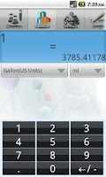 Screenshot of Axel Biolab-Calculator