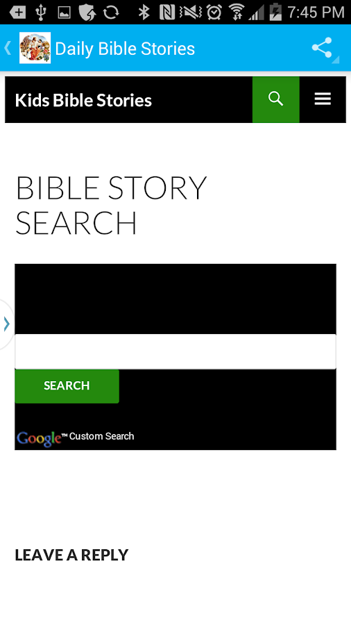 Bible Story of the Day- screenshot