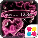 Bubble Hearts Wallpaper Theme icon