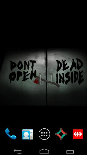 Dead Inside Wallpaper Theme
