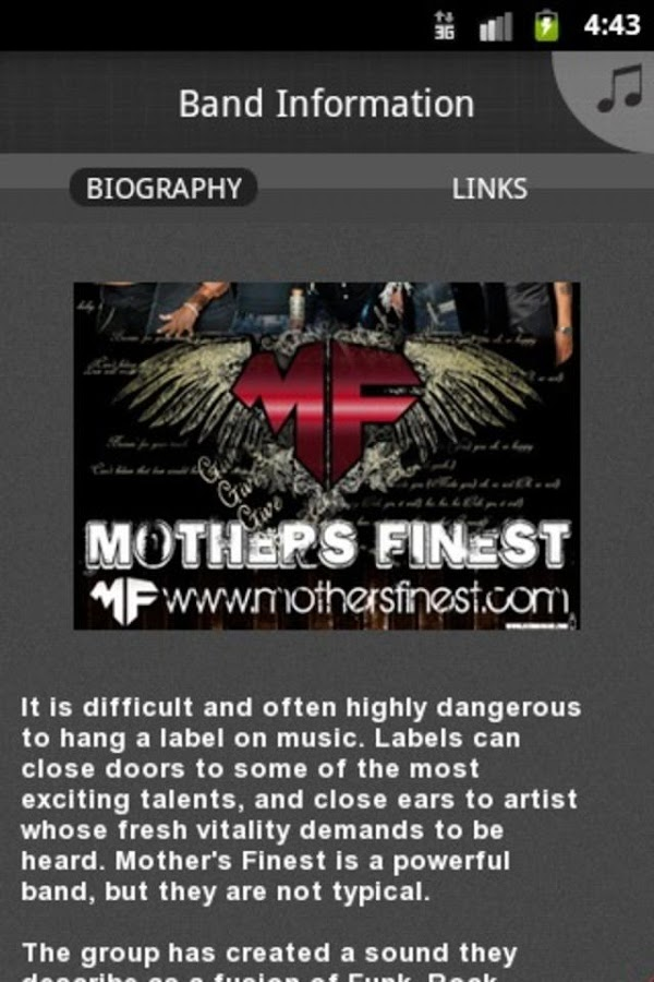 Mother's Finest- screenshot