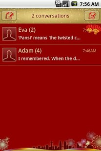 Easy SMS Springfestival Theme screenshot