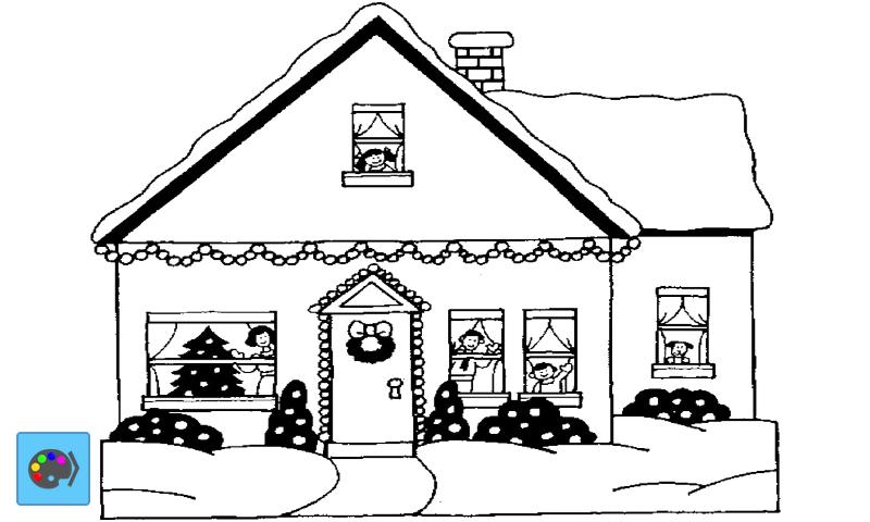 coloring houses screenshot