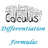 Maths Differentiation Formulas