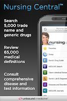 Screenshot of Nursing Central